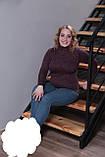 Теплая женская водолазка,ткань ангора-софт,размеры:50-52., фото 4