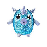 М'яка іграшка з паєтками SHIMMEEZ S2 - Романтичний єдиноріг (20 см)