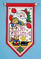 """Набор для вышивания крестом """"We Believe//Мы верим"""" Design Works dw5489"""
