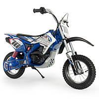 Детский мотоцикл Blue Fighter Xtreme 24V, синий, Injusa 6832