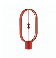 Настольная лампа светодиодная Heng Balance красная, фото 1