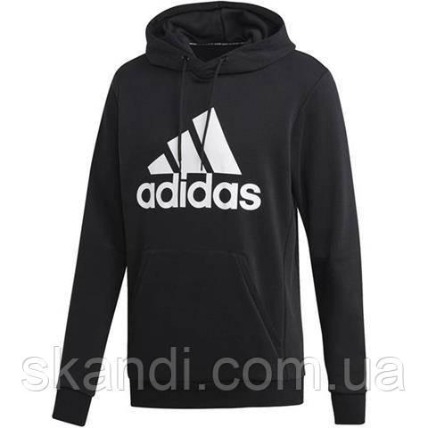 Толстовка мужская adidas MH BOS PO FT черная DQ1461