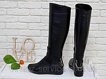 Сапоги женские Gino Figini М-112-02 из натуральной кожи 36 Черный, фото 3