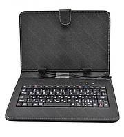Чехол с русской клавиатурой для планшета 8'' Micro USB