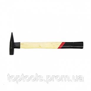 Молоток слесарный, 100 г, квадратный боек, деревянная рукоятка MTX