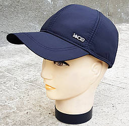 Мужская демисезонная кепка Klaus ID2 Плащевка Черный (385 МД)