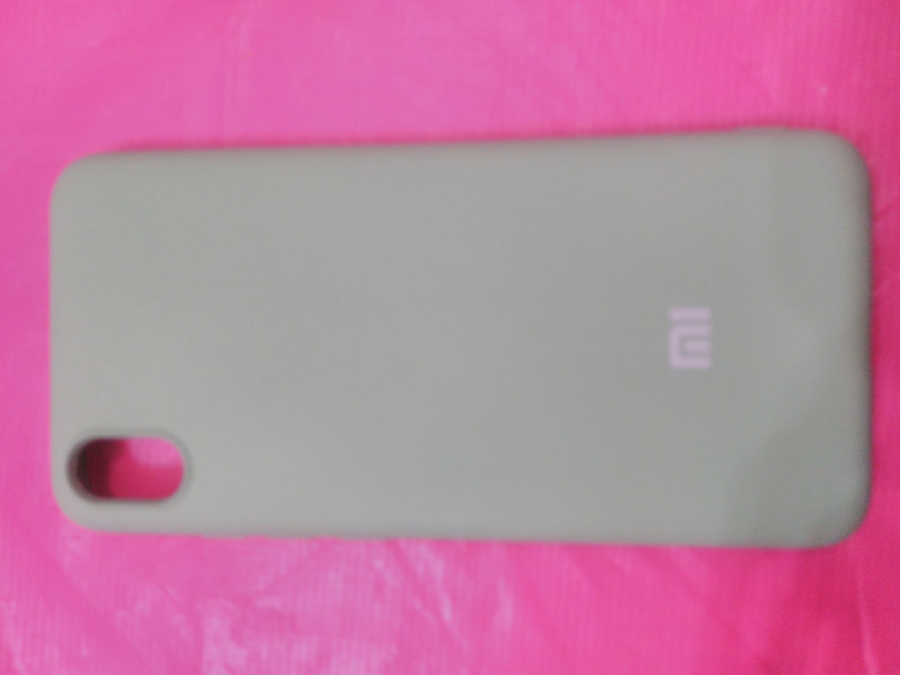 Накладка   Silicon Cover full   для  Xiaomi Redmi 7A (мятный)