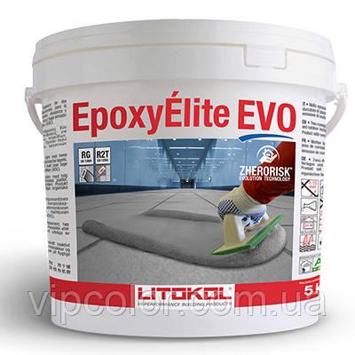 Литокол EPOXYELITE EVO эпоксидная затирка для швов и укладки всех видов плитки С.225 Табакко 5 кг