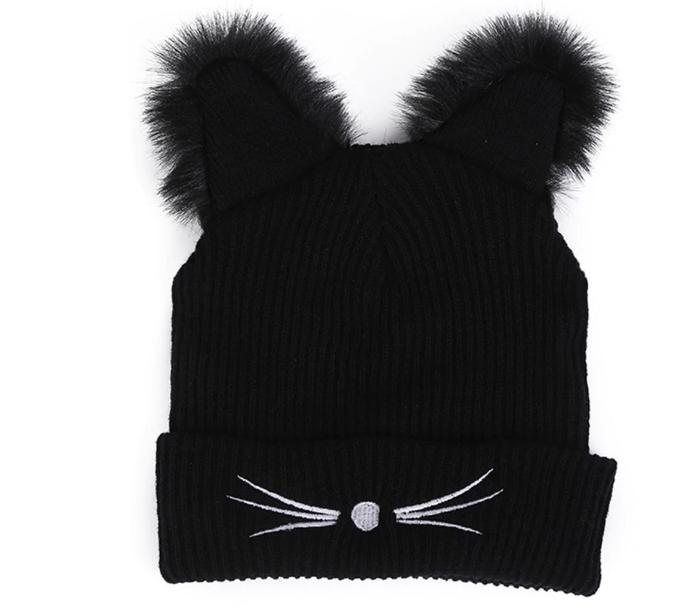 "Стильная шапка с ушками ""Кошка"" - фото 2"