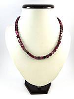 Ожерелье Турмалин кубик, Изысканное ожерелье из натурального камня, красивые украшения