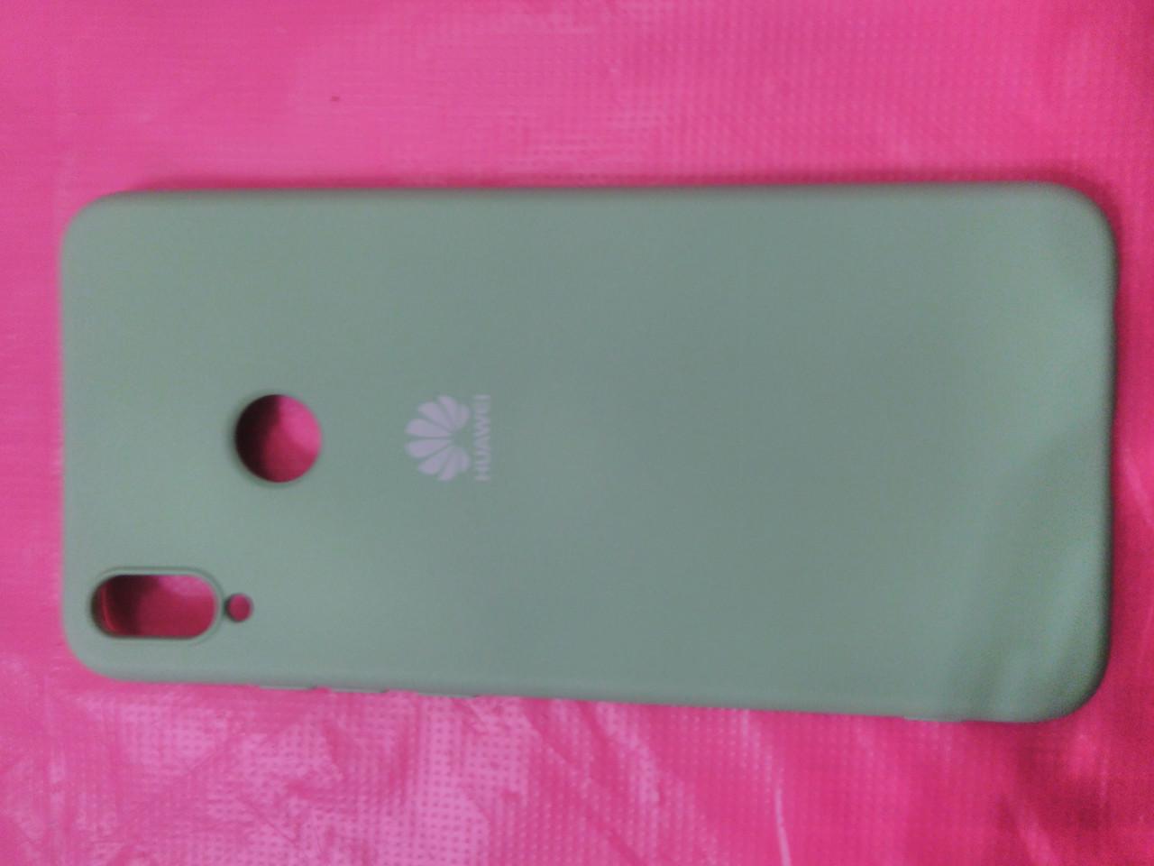 Накладка   Silicon Cover full   для  Huawei  Honor 8X  ( мятный)