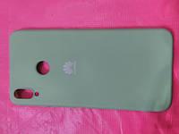 Накладка   Silicon Cover full   для  Huawei  Honor 8X  ( мятный), фото 1