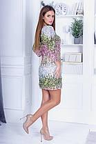 Платье пайетка 74025, фото 3