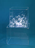 Куб акриловый для декорации тортов