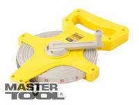 MasterTool  Рулетка геодезическая 100 м*13 мм, полотно из стекловолокна, Арт.: 66-1013