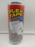 Сверхпрочная водонепроницаемая лента Flex Tape 20*150 см белая