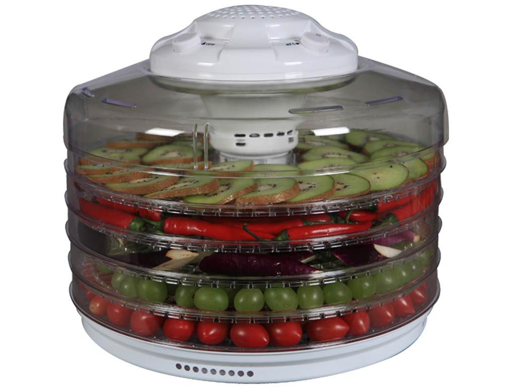 Сушка для овощей и фруктов с терморегулятором Turbo TV-395W