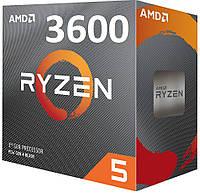 AMD Ryzen 5 3600 (100-100000031BOX) Matisse, фото 1