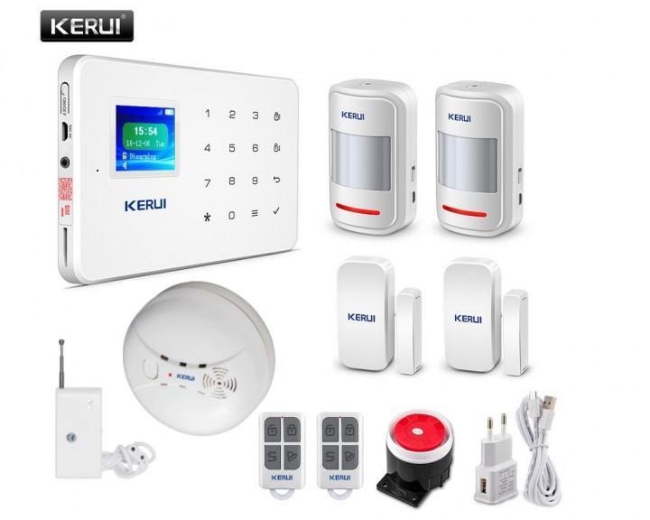 Комплект GSM сигнализации Kerui G18 Pro-kit 2! Гарантия 24 месяца!