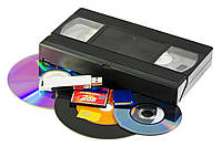 Оцифровка видео кассеты цена в Днепре