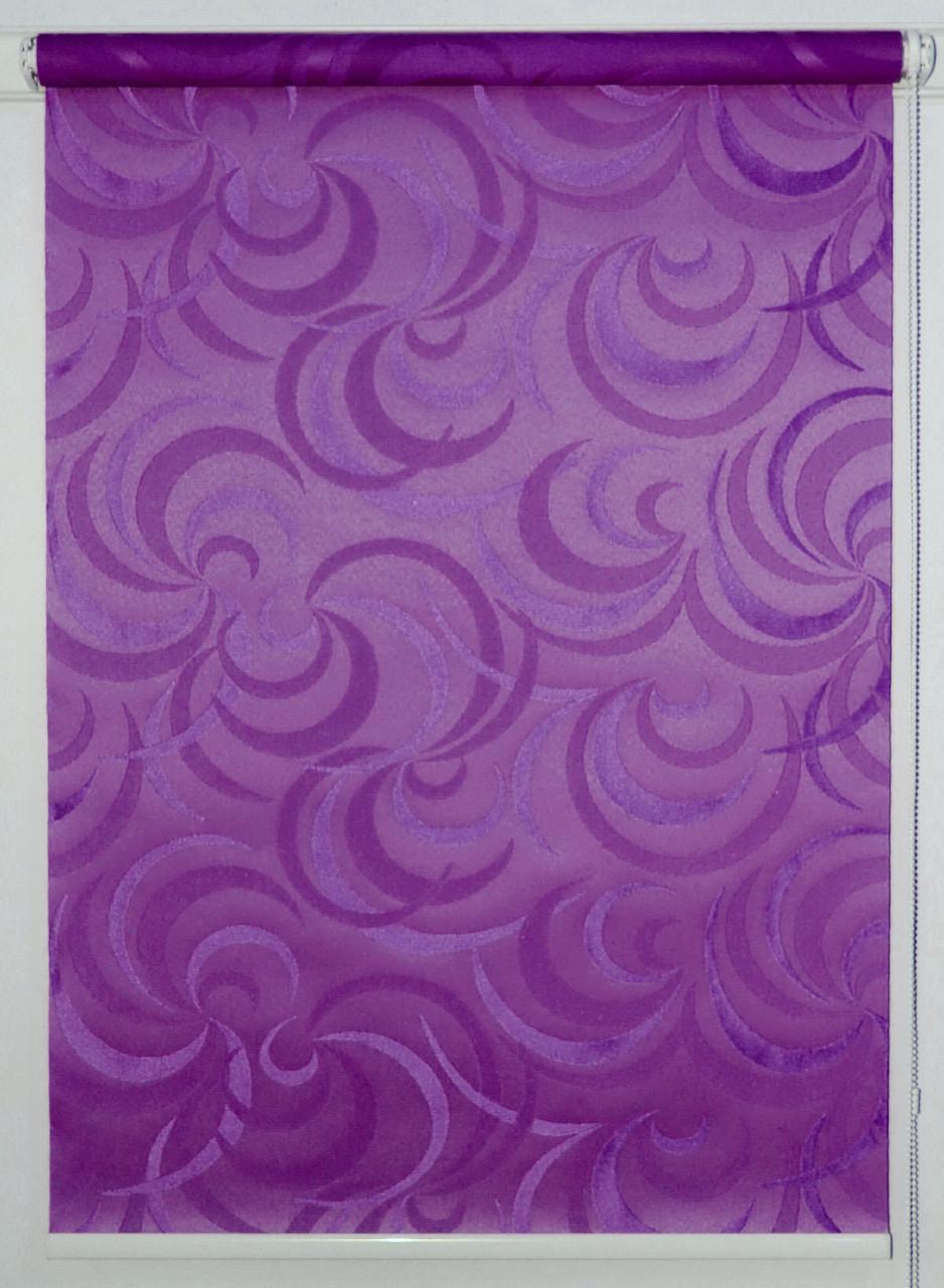 Рулонная штора Фестиваль Фиолетовый