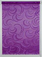 Готовые рулонные шторы Ткань Фестиваль Фиолетовый, фото 1