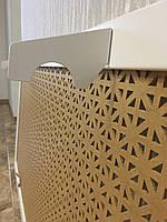 Кронштейны (крепления) для декоративных решеток на чугунные батареи отопления, комплект