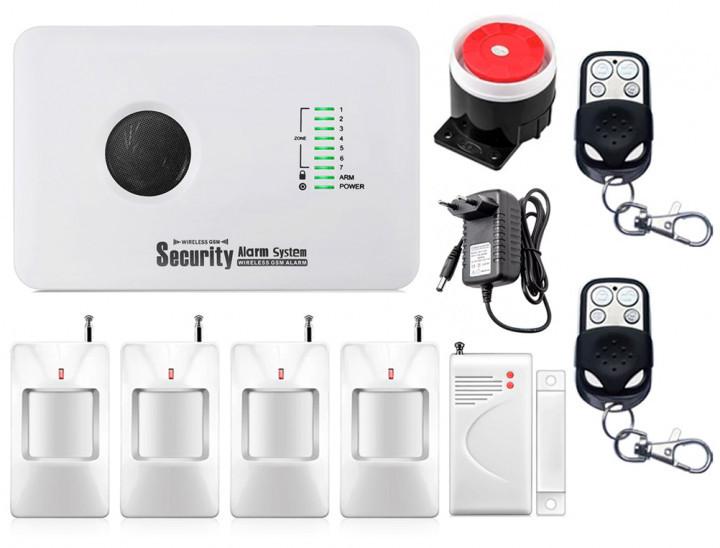 Комплект сигналізації Kerui alarm G10c для 3-кімнатної квартири! Гарантія 24 місяці!