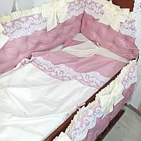 Бортики + конверт + постельное белье