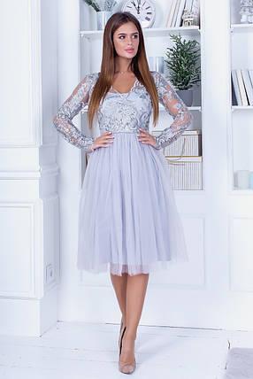 Платье нарядное кружево 74110, фото 2