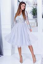 Плаття нарядне мереживо 74110, фото 2