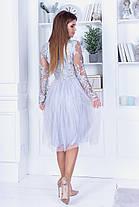 Плаття нарядне мереживо 74110, фото 3
