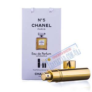 Подарунковий набір парфумів Chanel №5 45 мл