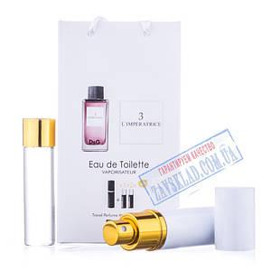 Подарунковий набір парфумів D&G l ' imperatrice 3 45 мл