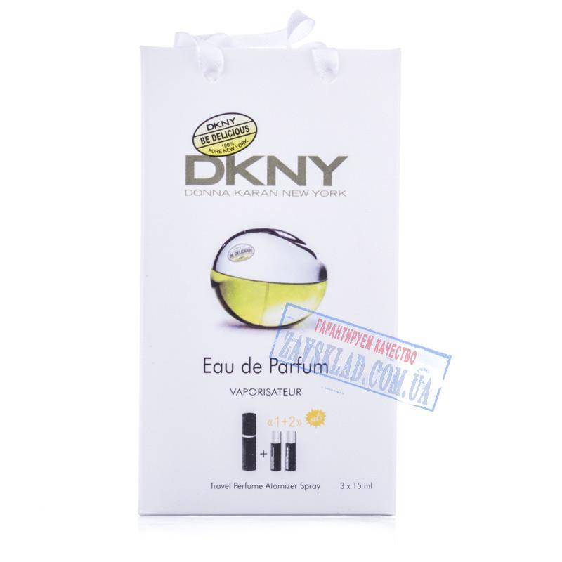 Подарочный набор женских духов DKNY be delicious 45 мл