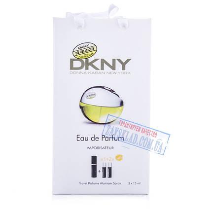 Подарочный набор женских духов DKNY be delicious 45 мл, фото 2