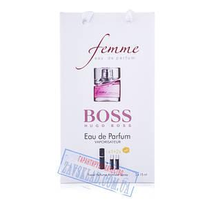 Набір подарункових жіночих парфумів Hugo Boss femme 45 мл