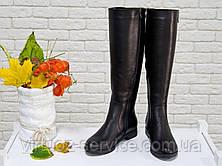 Сапоги Gino Figini  М-122-01 из натуральной кожи 37 Черный, фото 3