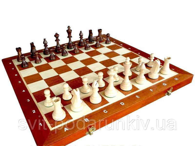 Шахматы турнирные деревянные 96