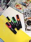 Набор цветных текстовыделителей Highlighter 4 шт, фото 5