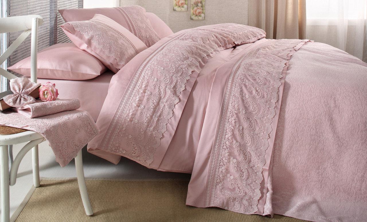 Gelin home КПБ SAL 2 сп темно-розовый