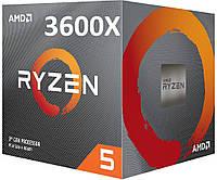 AMD Ryzen 5 3600X (100-100000022BOX) Matisse, фото 1
