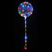 Шарики воздушные с подсветкой Bobo Balloons (большие) 3 режима работы 68 см