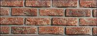 Полиуретановые формы для производства искусственного камня под состаренный кирпич «Рустик», фото 1