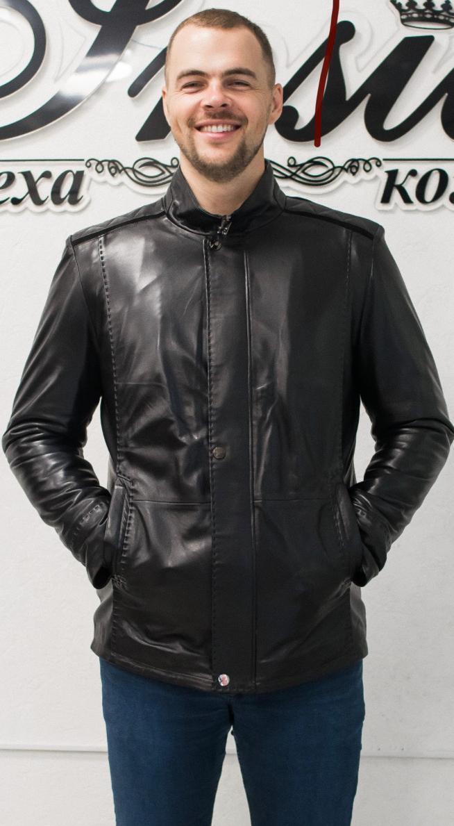Куртка Мужская Утепленная Съемный Мех 017НД