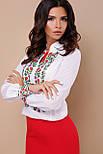 GLEM Вышиванка блуза Ярослава д/р, фото 3