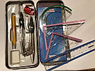 Готовальня NEW MAX, 9 предметов, фото 7