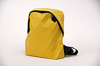 Женский рюкзак эко-кожа Geometry bag желтый