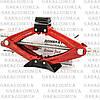 Домкрат ромб 2т CARLIFE SJ227 резиновая подушка, фото 2
