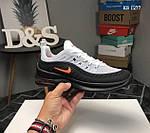 Чоловічі кросівки Nike Axis 98 KPU (сіро/чорні), фото 6